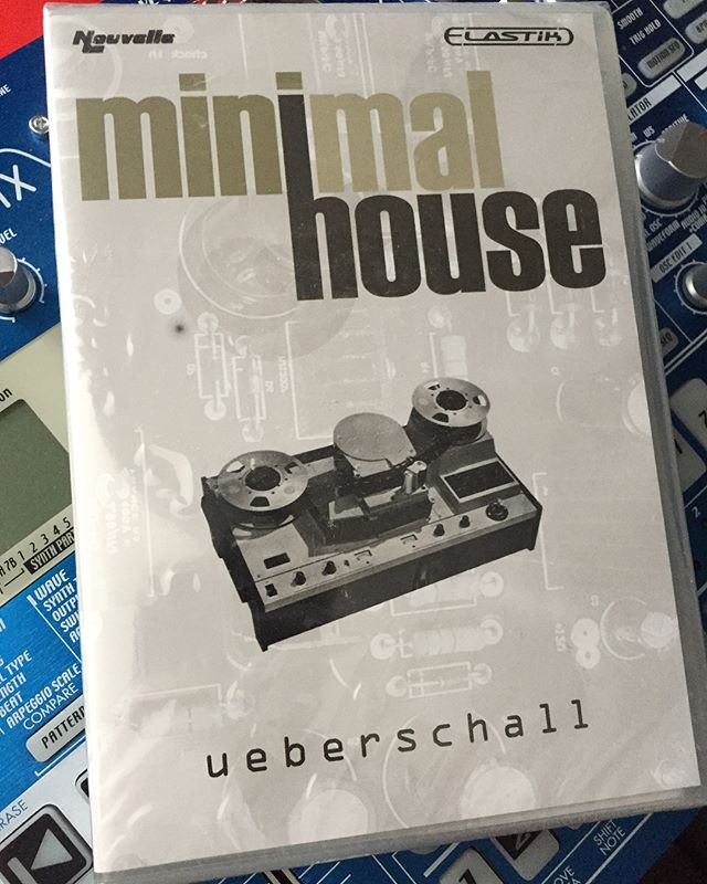 Some years ago i did this Minimal House DVD for Ueberschall. ️
