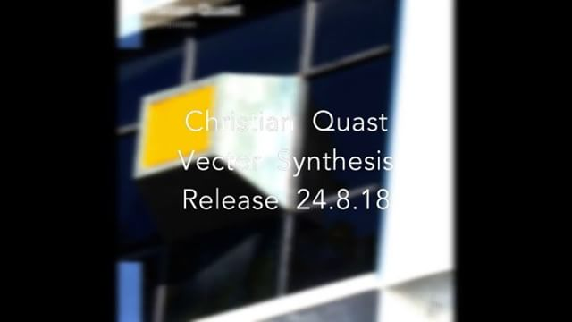 "Christian Quast Vector Synthesis 24.8.2018 Salto Recordings presents Christian Quast : ""Vector Synthesis"" with his Yamaha TG33. Reduced, weird sounds, arranged live and recorded completely analog. Enjoy..."