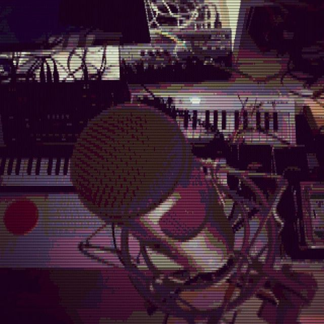 Prepearing the studio for a recording session later today !