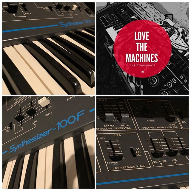 Christian Quast - Love the Machine, Vol. 1  Pre-order here: http://smarturl.it/mcb5cy  One of the Synths in my studio that i use for my productions is the Kawai 100f. The Kawai Synthesizer-100F is a single VCO monophonic analogue synthesizer with a 3-octave, 37-note, C-C keyboard.